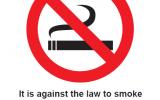 Smoking Legislation, March 2021